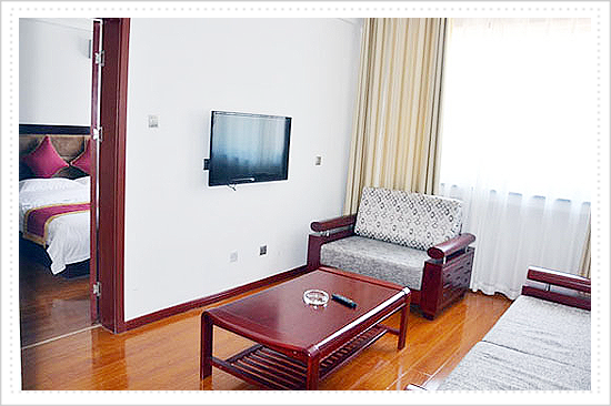 Taihang style hotel business standard room 268RMB/day(including breakfast)